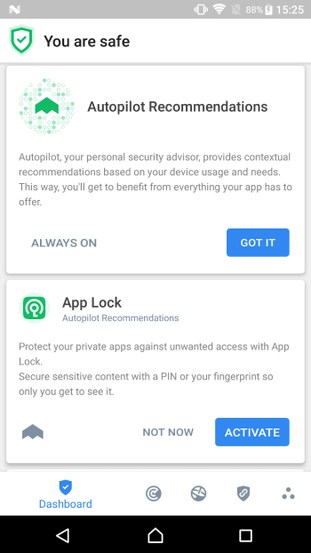 Bitdefender Mobile Security for Android devices.